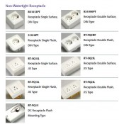Non Watertight Receptacle & Switch (19)